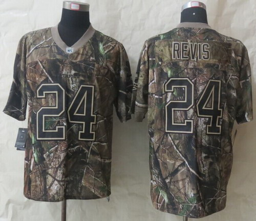 Nike New England Patriots #24 Darrelle Revis Realtree Camo Elite Jersey