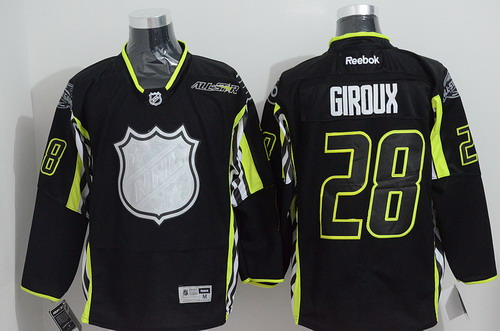 Philadelphia Flyers #28 Claude Giroux 2015 All-Stars Black Jersey