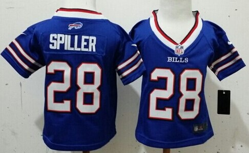 8bf129d3d ... Lights Out Black Toddlers J Nike Denver Broncos 18 Peyton Manning Blue Toddlers  Jersey Nike Buffalo Bills 28 C.J. Spiller 2013 Light Blue Toddlers ...