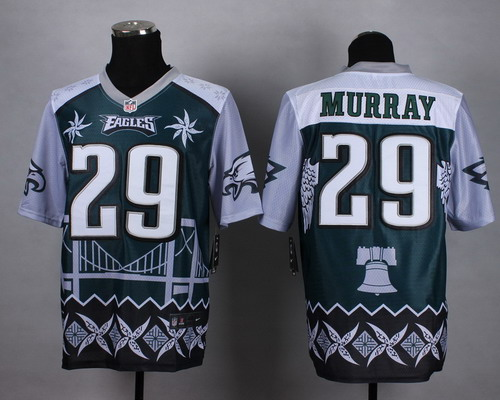 Nike Philadelphia Eagles #29 DeMarco Murray 2015 Noble Fashion Elite Jersey