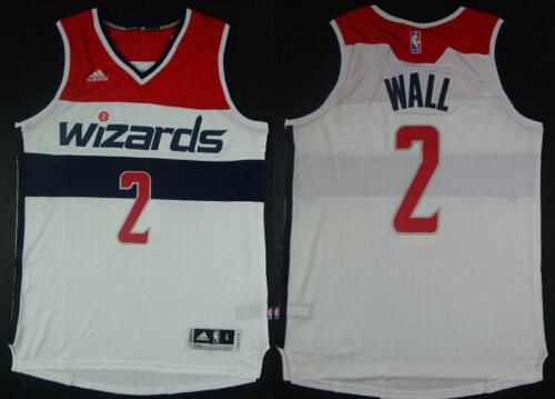 ... Washington Wizards 2 John Wall Revolution 30 Swingman 2014 New White  Jersey . ... 7793cafa0