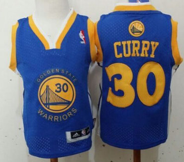 Golden State Warriors #30 Stephen Curry Blue  Toddlers Jersey
