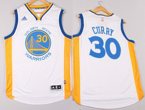 70835fa1b Golden State Warriors  30 Stephen Curry Revolution 30 Swingman 2014 New  White Jersey