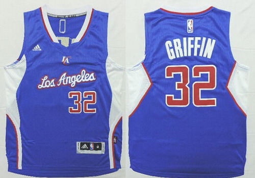 bc3951092 ... Los Angeles Clippers 32 Blake Griffin 2014 New Blue Kids Jersey 2014  2015 ...