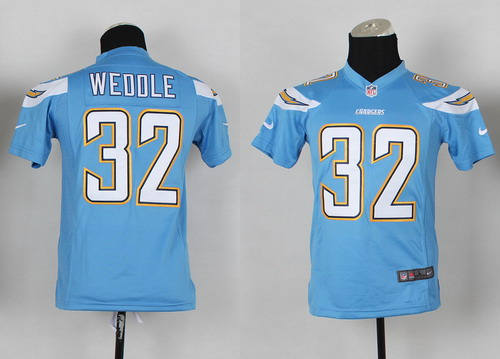 0359b55c nike san diego chargers 32 eric weddle 2013 navy blue game kids jersey