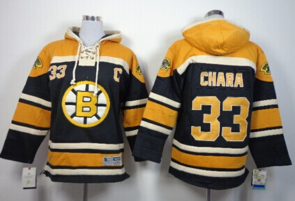 ea5c90a99 Old Time Hockey Boston Bruins 33 Zdeno Chara Black Kids Hoodie Authentic  Old Time Hockey Mens Bobby Orr Black Jersey - NHL 4 Boston Bruins Sawyer ...