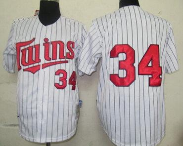 38933824e7b minnesota twins 34 kirby puckett 1991 white throwback jersey mens minnesota  twins 3 harmon killebrew retired