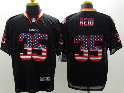 info for c3ddf 08ef3 nike san francisco 49ers 7 colin kaepernick 2014 usa flag ...