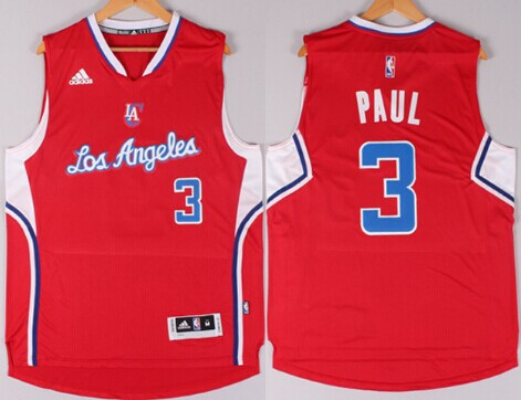 d29842715 ... Los Angeles Clippers 3 Chris Paul Revolution 30 Swingman 2014 New Red  Jersey ...