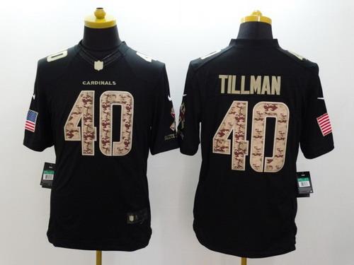 Nike Arizona Cardinals  40 Pat Tillman Salute to Service Black Limited  Jersey 39230f65e