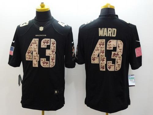 d3a8405b6 greece nike denver broncos 43 t.j. ward salute to service black limited  jersey limited nike mens
