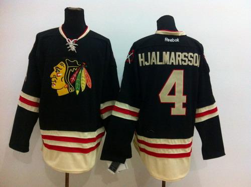 ... Chicago Blackhawks 4 Niklas Hjalmarsson 2015 Winter Classic Black Jersey  Niklas Hjalmarsson Chicago Blackhawks Reebok Authentic ... 1e7888c00
