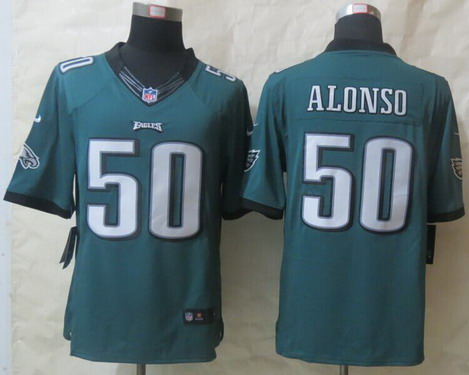 nfl Philadelphia Eagles Kiko Alonso ELITE Jerseys