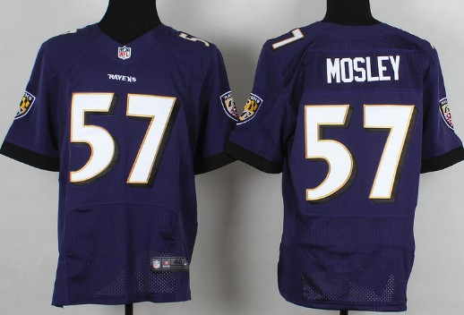 nike baltimore ravens 57 c.j. mosley 2013 purple elite jersey