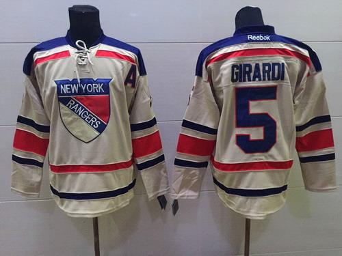 sports shoes a3a45 1a0d8 new york rangers 18 marc staal 2012 winter classic cream jersey