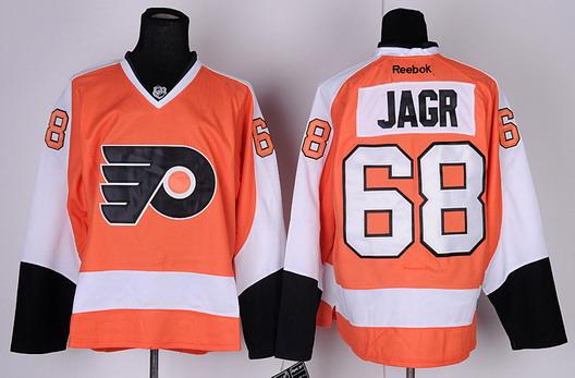 4b107c0b2 ... Winter Classic NHL Jersey Philadelphia Flyers 68 Jagr Orange Jersey ...