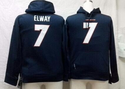 Nike Denver Broncos #7 John Elway Blue Kids Hoodie