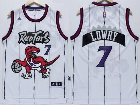 Mens Adidas Toronto Toronto Raptors 7 Kyle Lowry Hardwood Classic White Swingman  Jersey ... f20ae59d0