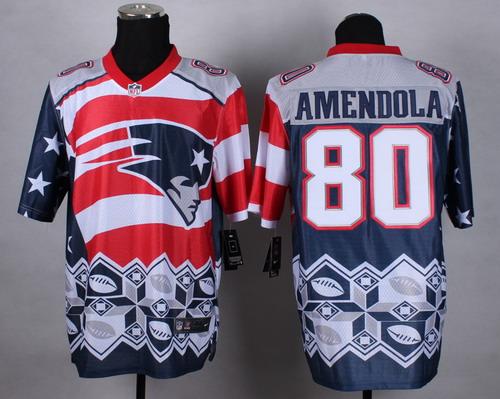 2d7dd94c39c Nike New England Patriots  80 Danny Amendola 2015 Noble Fashion Elite Jersey