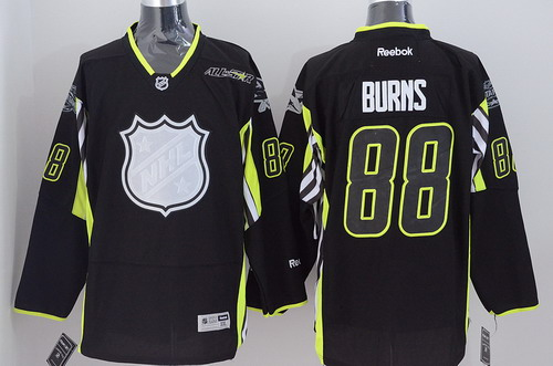 San Jose Sharks #88 Brent Burns 2015 All-Stars Black Jersey