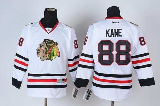 chicago blackhawks 88 patrick kane white camo kids jersey ae7c967db