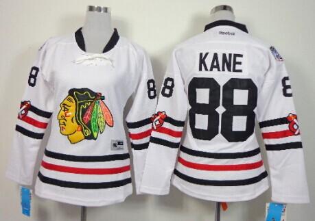 ... Youth Chicago Blackhawks 88 Patrick Kane 2015 Winter Classic White  Womens Jersey ... 1290e5821