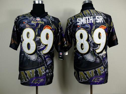 nike baltimore ravens 89 steve smith sr 2014 fanatic fashion elite jersey