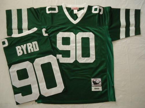 7379864f043 ... Mens NFL Philadelphia Eagles 3 Sanchez White Elite Jersey New York Jets  90 Dennis Byrd Green Throwback Jersey ...