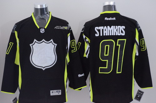 Tampa Bay Lightning #91 Steven Stamkos 2015 All-Stars Black Jersey