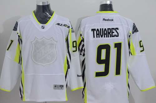 New York Islanders #91 John Tavares 2015 All-Stars White Jersey