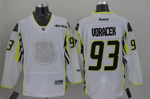 Philadelphia Flyers #93 Jakub Voracek 2015 All-Stars White Jersey