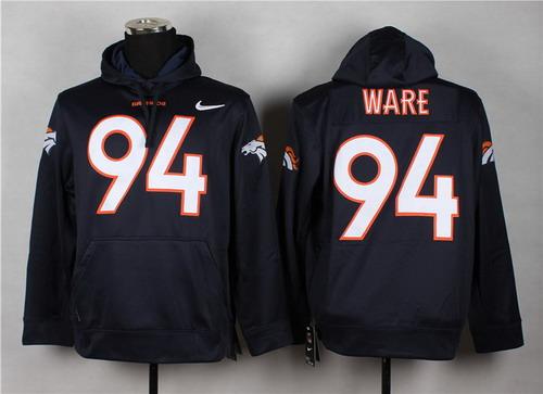 NFL Denver Broncos Men's Pro Line Black Gold Collection Pullover ...