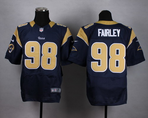 Men s St. Louis Rams  79 Rob Havenstein Nike White Elite Jersey on ... 7421d3dec