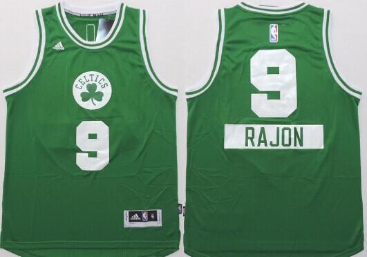 b4f5da1de ... wholesale mlb Boston Celtics 9 Rajon Rondo Revolution 30 Swingman 2014  Christmas Day Green Jersey ...
