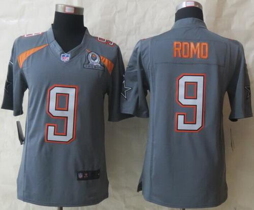 ... Nike Team Irvin Tony Romo Nike 2015 Pro Bowl Gray Elite Jersey ... Mens  Arizona Cardinals 21 Patrick Peterson White 2016 ... 7929ba1a3