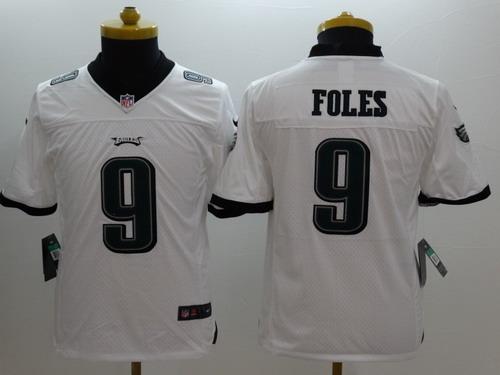 wholesale dealer bed9f 8801c order youth nick foles limited white nike jersey nfl ...