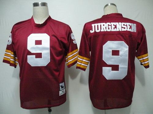 on sale 13649 99080 Washington Redskins #44 John Riggins Red Throwback Jersey on ...