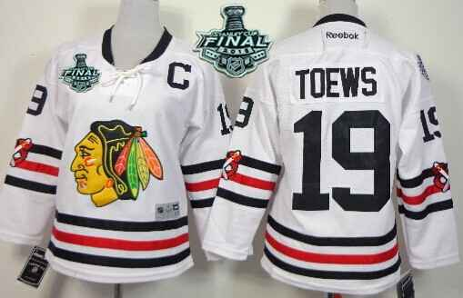 10 youth patrick sharp premier white 2015 winter classic youth chicago blackhawks 19 jonathan toews