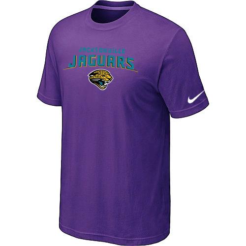 Jacksonville Jaguars Heart & Soul Blue T-Shirt