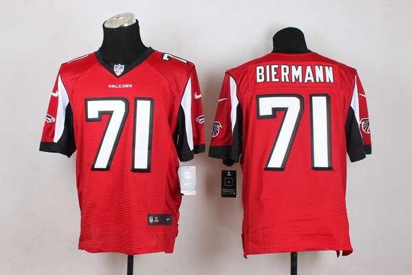 Nike NFL Mens Jerseys - Men's Atlanta Falcons #88 Tony Gonzalez Nike Red Elite Jersey on ...