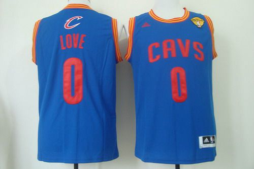 9b2715cdf9a ... norway mens cleveland cavaliers 0 kevin love 2015 the finals light blue  jersey c799c 0aeca