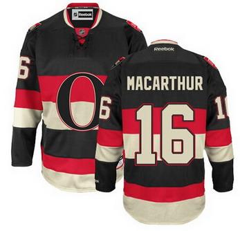 Ottawa Senators #16 Clarke MacArthur Black Third Jersey