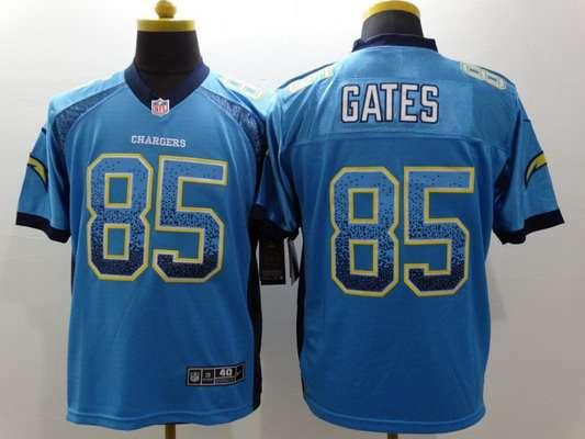 ... 2013 Light Blue Game Kids Jersey Mens San Diego Chargers 85 Antonio  Gates Nike Drift Fashion Blue Elite Jersey ... 24b94b74f