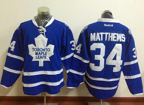 ... Third Stitched NHL Jersey Maple Leafs 34 Auston Matthews Blue Alternate  Stitched NHL Jersey Toronto ... 85fc8aa2f