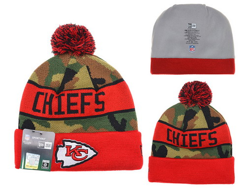 Kansas City Chiefs Beanies YD005