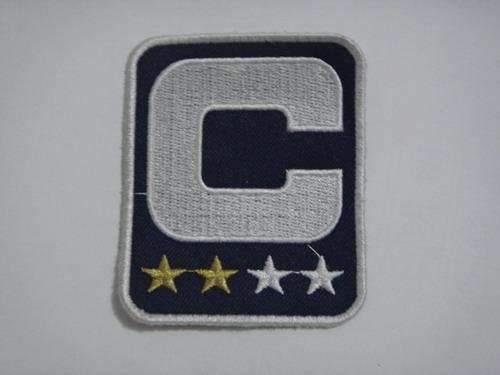 New England Patriots Captain Blue C Patch