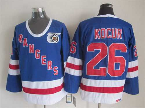 competitive price 9519e 9e5c4 new york rangers 10 ron duguay light blue ccm vintage ...