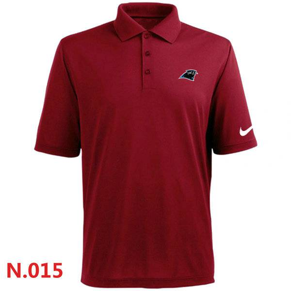 Nike Carolina Panthers 2014 Players Performance Polo Red