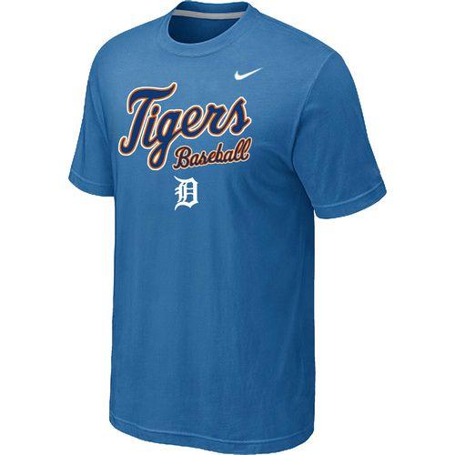 Nike MLB Detroit Tigers 2014 Home Practice T-Shirt - light Blue