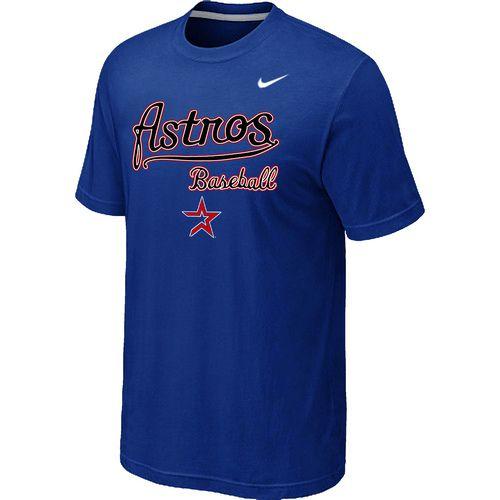 Nike MLB Houston Astros 2014 Home Practice T-Shirt - Blue